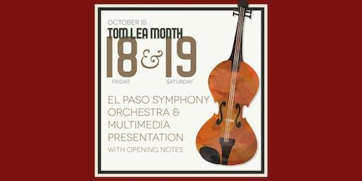 El Paso Symphony Orchestra Live Multimedia Performance