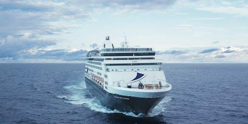 Boutique Cruising with Cruise & Maritime Voyages - 2pm, Wednesday 25th September - Glenelg
