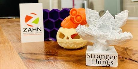 CAD/3D Printing Workshop at Zahn Part 2 tickets