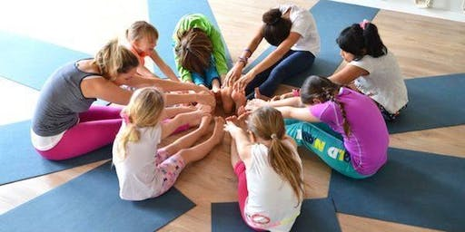 Youth Yoga in the Park (Ages: 4-12)