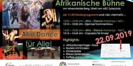 Afrikanische Bühne am Ahrensfelder Berg ABC Spielplatz tickets