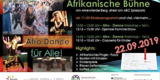 Afrikanische Bühne am Ahrensfelder Berg ABC Spielplatz
