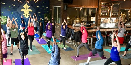 Yoga + Beer & Halloween Candy Pairing at Charleville Brewing Company tickets