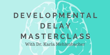 Developmental delay in adults and children tickets
