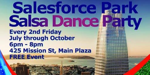 Salesforce Park Salsa Dance Party