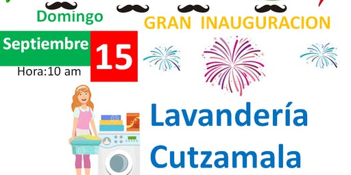 INAUGURACION LAVANDERIA CUTZAMALA