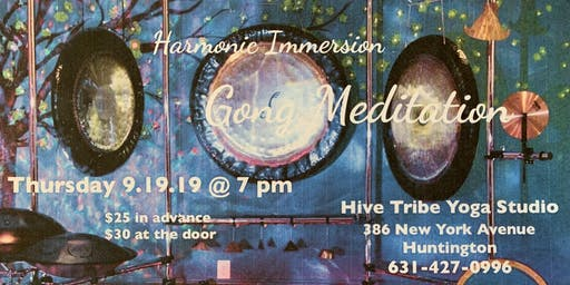 Harmonic Immersion Gong Meditation