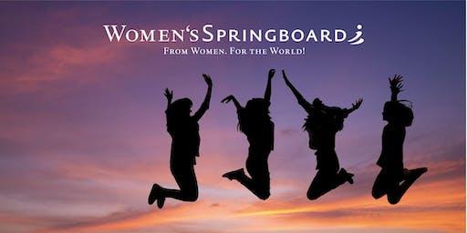 Women's Springboard: Treffen auf der Frankfurter Buchmesse!
