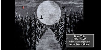 """Charcoal Drawing Event """"The Field"""" in Verona"""