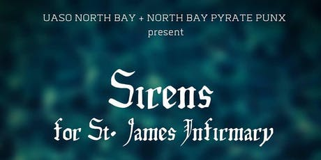 Sirens for St. James Infirmary Benefit Concert tickets