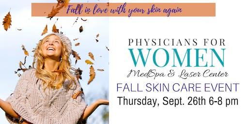 Fall Skin Care Event