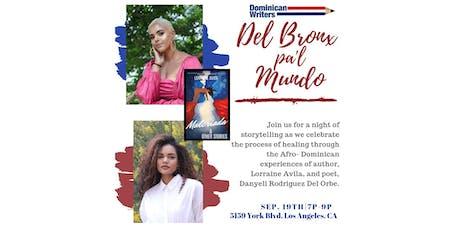 Del Bronx Pa'l Mundo - a night of storytelling & spoken word tickets