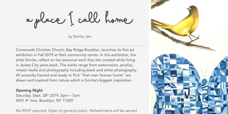 Art Exhibition: A place I call, home! tickets