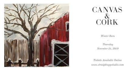 Canvas & Cork | Winter Barn tickets