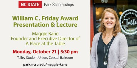 Maggie Kane - William C. Friday Award Presentation and Lecture tickets