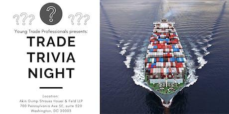 Trade Trivia Night - October 3rd tickets