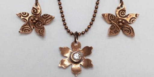 Metal Clay Jewelry: Copper and Bronze (3 Classes)