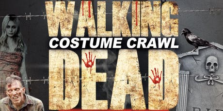 Walking Dead Costume Crawl -  Halloween Night Thursday Oct. 31st - Boston tickets