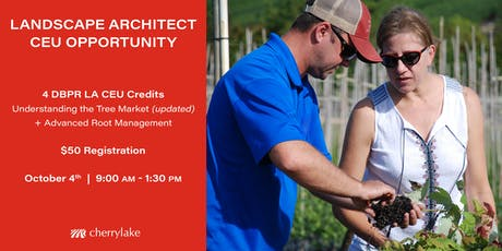 Landscape Architect CEU Opportunity tickets