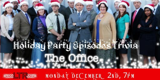"The Office Trivia ""The Holiday Party Episodes"" at Leesville Taproom"