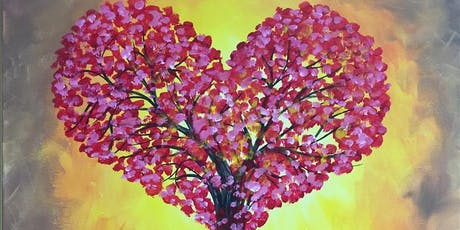 """POP UP TALK THERAPY at  PAINTING WITH A TWIST EVENT- Theme """"Healing Hearts"""" tickets"""