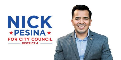 Campaign Kickoff for Nick Pesina