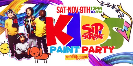KIDS Paint Party (12pm - 3pm) tickets