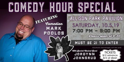 October Festival Comedy Hour Special featuring Mark Poolos