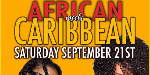 AFRICAN MEET'S CARIBBEAN PARTY