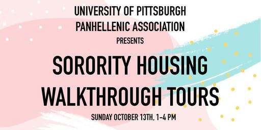 Sorority Housing Walkthrough Tours