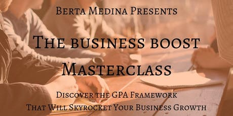 Business Boost Masterclass for Coaches & Speakers entradas