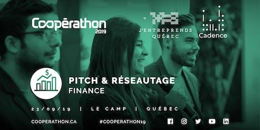 Pitch & Réseautage - QC - Finance