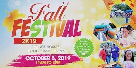 Community Fall Festival 2019 tickets