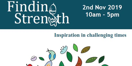 Finding Strength: inspiration in challenging times tickets