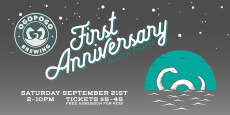 ONE YEAR ANNIVERSARY BLOCK PARTY tickets