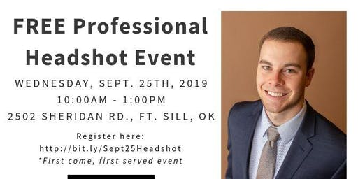 FREE Professional Headshot Event