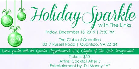 HOLIDAY SPARKLE WITH THE GRVA CHAPTER OF THE LINKS, INCORPORATED tickets