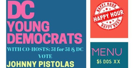 DCYD WITH CO-HOSTS: 51 for 51 & DC VOTE Happy Hour tickets