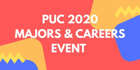 PUC 2020 Majors and Careers Event tickets