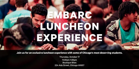 Embarc Luncheon Experience tickets