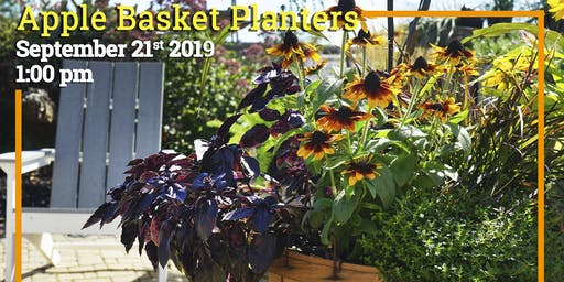 Apple Basket Planters Class