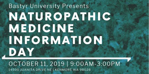 Naturopathic Medicine Information Day