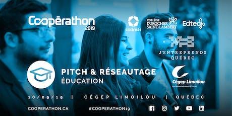 Pitch & Réseautage - QC - Éducation billets