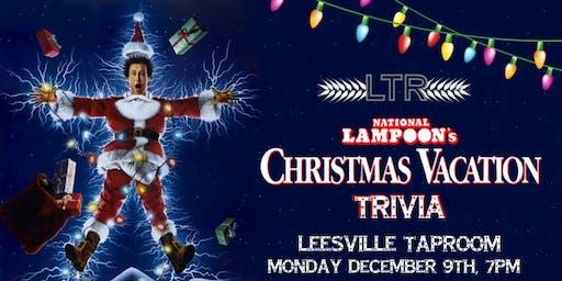 National Lampoon's Christmas Vacation Trivia at Leesville Taproom