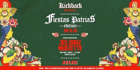 Xelas presents Kickback Brunch feat. Jes Danz + Muezette tickets