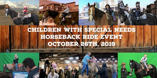 "BC Sheriff's Mounted Posse Annual ""Children with Special Needs Horseback Ride Event"""
