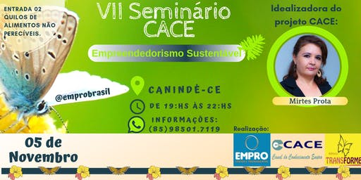 VII SEMINÁRIO CACE - Realização: EMPRO BRASIL