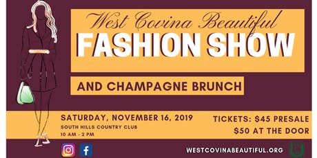 West Covina Beautiful Fashion Show tickets