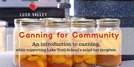 Canning for Community #2 tickets