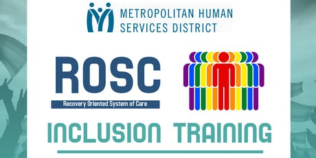 ROSC Inclusion Training tickets